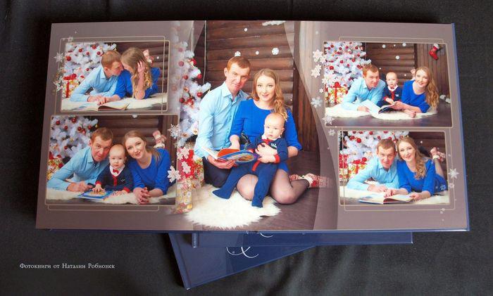 разворот 2 напечатанной книги с фотосессии