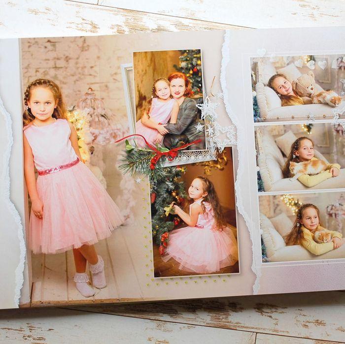 разворот 1 фотокниги для Алисы