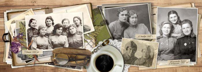 разворот 3 фотокниги о ветеранах войны