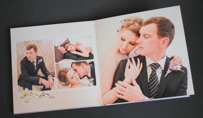 Разворот 6 фотокниги для Михаила и Анастасии