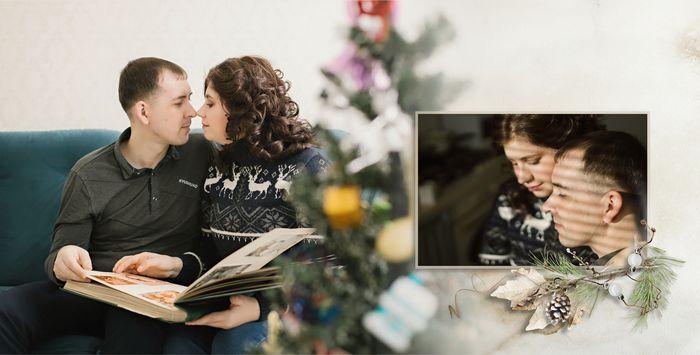 разворот 1 фотокниги Love Story